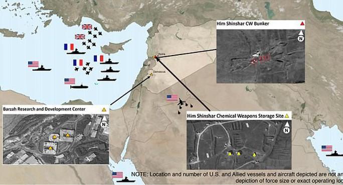 Vụ Mỹ và đồng minh không kích: Syria bắn 40 tên lửa nhưng 38 quả không trúng? - Ảnh 4.