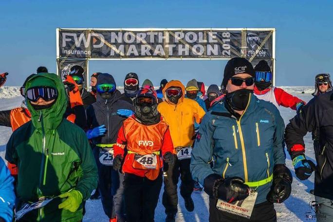 Bóng hồng Việt chạy marathon ở Bắc Cực - Ảnh 2.