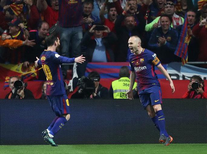 Đại thắng Sevilla 5-0, Barcelona đăng quang Cúp Nhà vua - Ảnh 4.