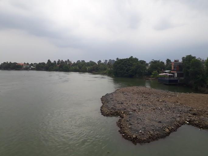 Vụ sông Đồng Nai lại bị lấp, lấn: Hiện hình mặt bằng trên sông - Ảnh 4.