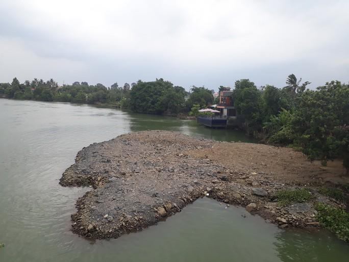 Vụ sông Đồng Nai lại bị lấp, lấn: Hiện hình mặt bằng trên sông - Ảnh 3.