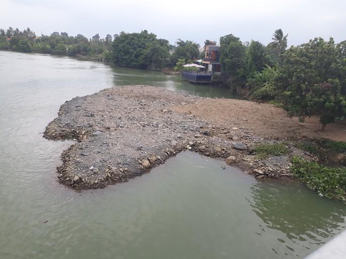 Vụ sông Đồng Nai lại bị lấp, lấn: Hiện hình mặt bằng trên sông - Ảnh 1.