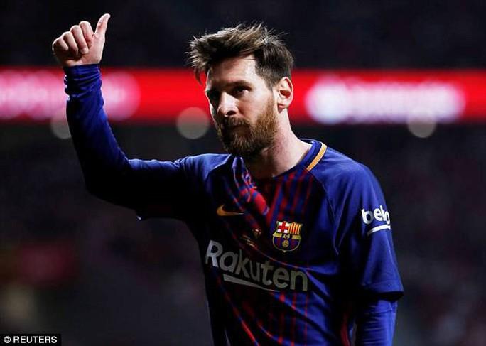 Thu nhập 110 triệu bảng/mùa, Messi cho Ronaldo hít khói - Ảnh 1.
