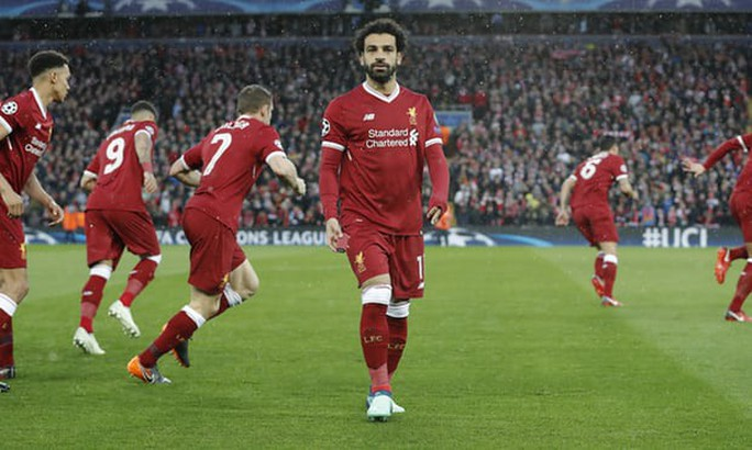 Salah khiến Ronaldo nóng mặt - Ảnh 1.