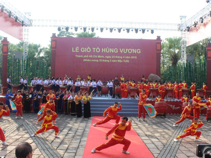 TP HCM long trọng tổ chức giỗ Tổ Hùng Vương - Ảnh 3.