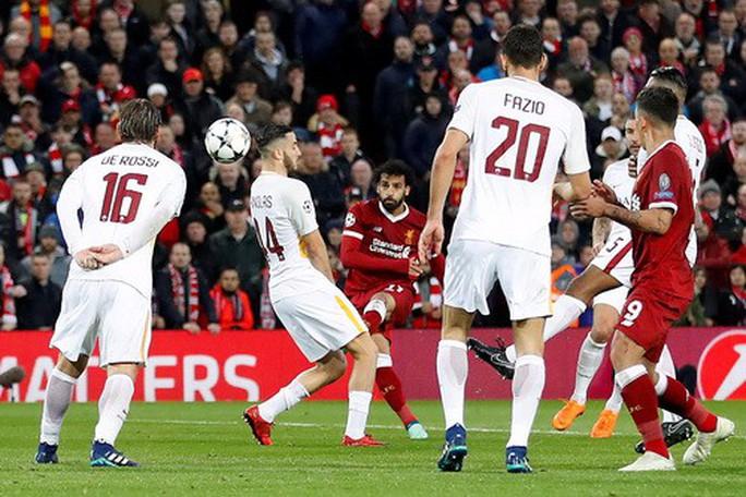 Salah đại phá cố nhân Roma, Liverpool chờ vé chung kết - Ảnh 3.