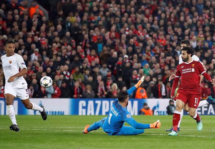 Salah đại phá cố nhân Roma, Liverpool chờ vé chung kết - Ảnh 4.