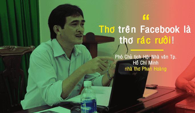 Nhà thơ Phan Hoàng từ chức sau sóng gió Ngộ độc thơ  - Ảnh 4.