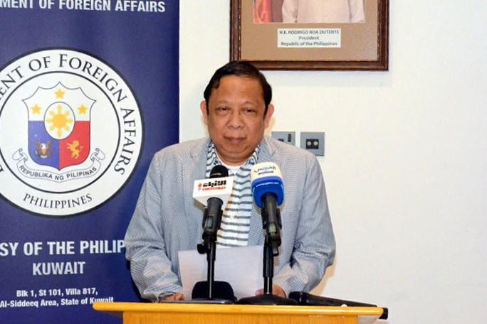 Kuwait trục xuất đại sứ Philippines quanh vụ lao động bị ngược đãi - Ảnh 1.