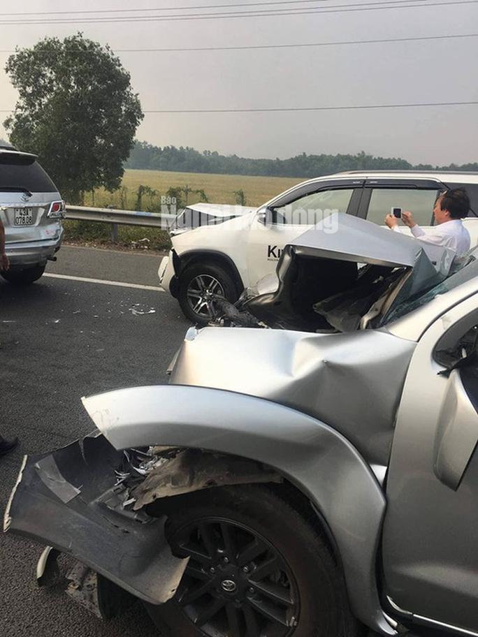 Tai nạn liên hoàn cao tốc Long Thành - Dầu Giây do đốt rác - Ảnh 12.