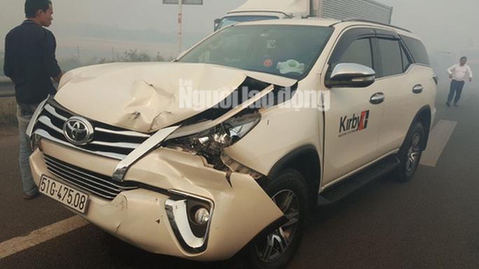 Tai nạn liên hoàn cao tốc Long Thành - Dầu Giây do đốt rác - Ảnh 10.