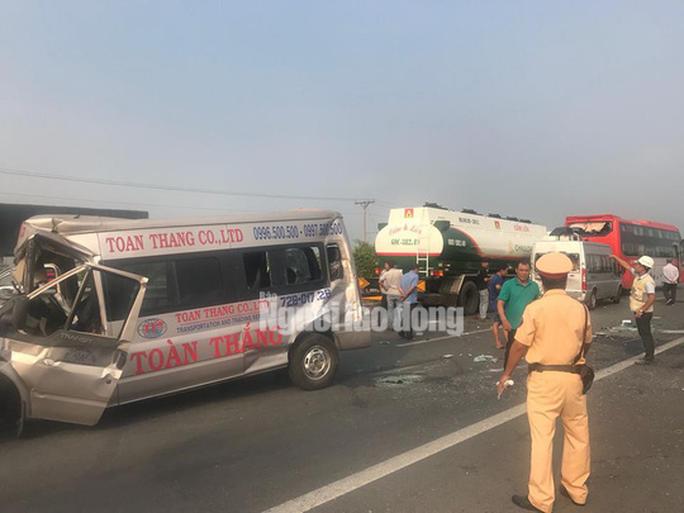 Tai nạn liên hoàn cao tốc Long Thành - Dầu Giây do đốt rác - Ảnh 9.