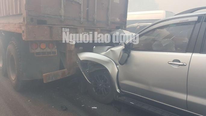 Tai nạn liên hoàn cao tốc Long Thành - Dầu Giây do đốt rác - Ảnh 8.