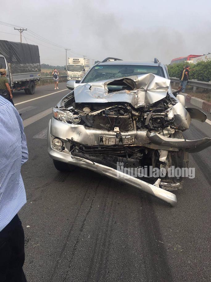 Tai nạn liên hoàn cao tốc Long Thành - Dầu Giây do đốt rác - Ảnh 2.