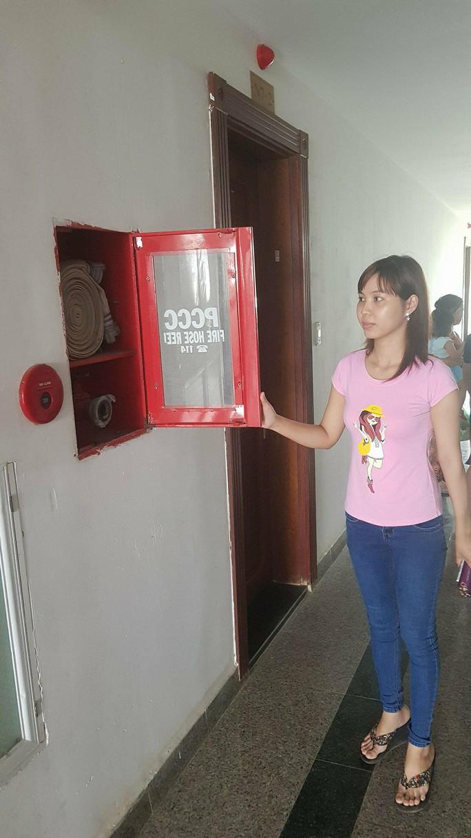 Hệ thống báo cháy ngủ yên, chủ đầu tư chung cư Tây Nguyên Plaza bị phạt - Ảnh 2.