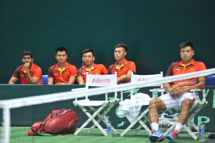 Việt Nam đánh bại Cambodia, giành vé vào vòng 2 Davis Cup 2018 - Ảnh 1.