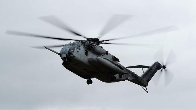 Rơi trực thăng quân sự Mỹ gần biên giới Mexico, 4 người thiệt mạng - Ảnh 1.