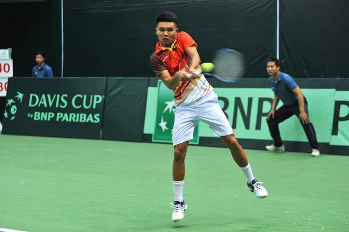 Việt Nam đánh bại Cambodia, giành vé vào vòng 2 Davis Cup 2018 - Ảnh 2.