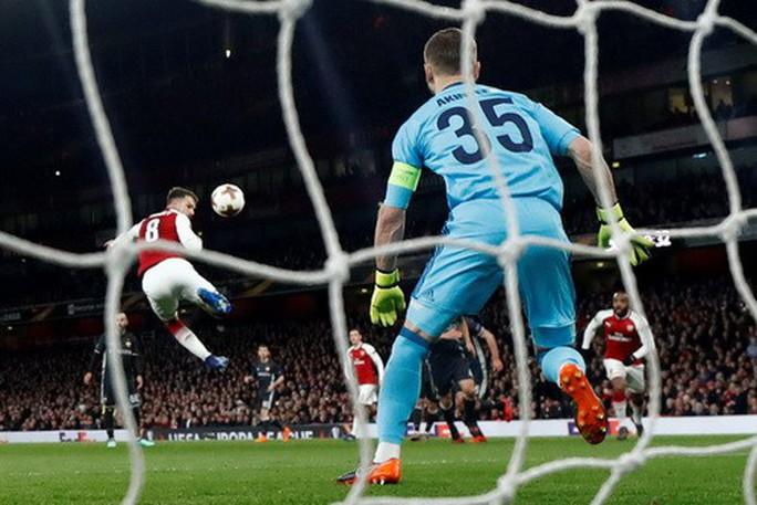 Arsenal đại náo Europa League, Atletico lập kỷ lục săn bàn - Ảnh 4.