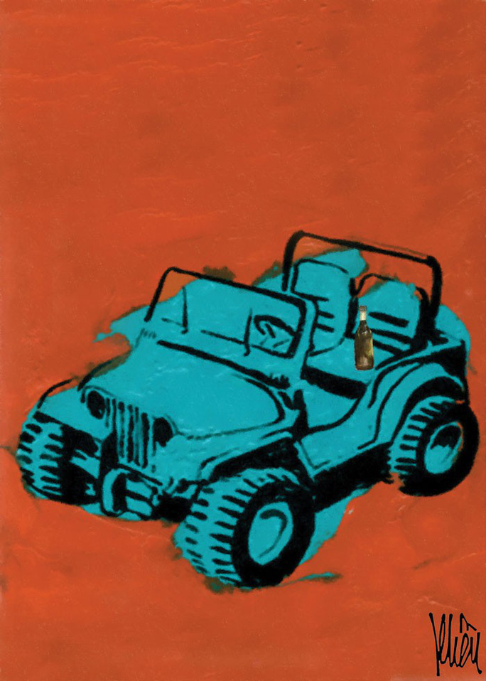 Chiếc Jeep lùn và chai mật ong rừng - Ảnh 1.