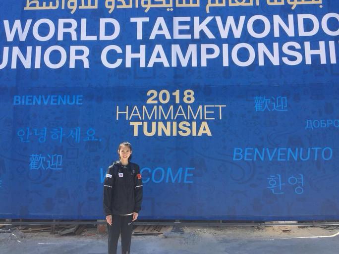 Kim Ngân giành vé cho taekwondo Việt Nam dự Olympic trẻ 2018 - Ảnh 1.