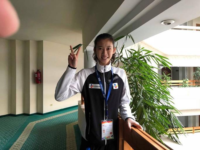 Kim Ngân giành vé cho taekwondo Việt Nam dự Olympic trẻ 2018 - Ảnh 2.