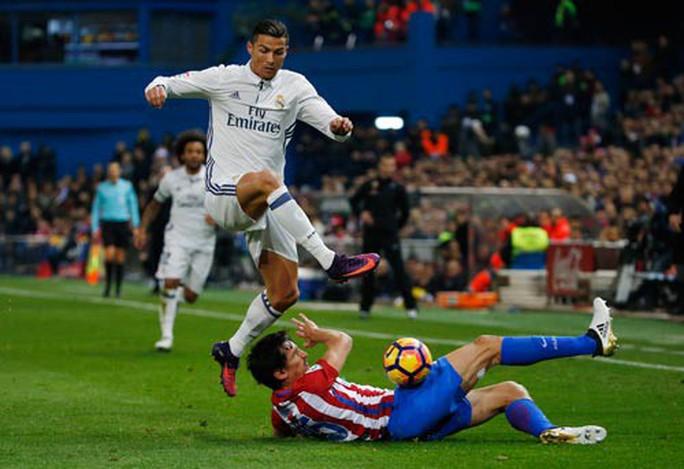 Ronaldo - nỗi ám ảnh của Atletico - Ảnh 1.