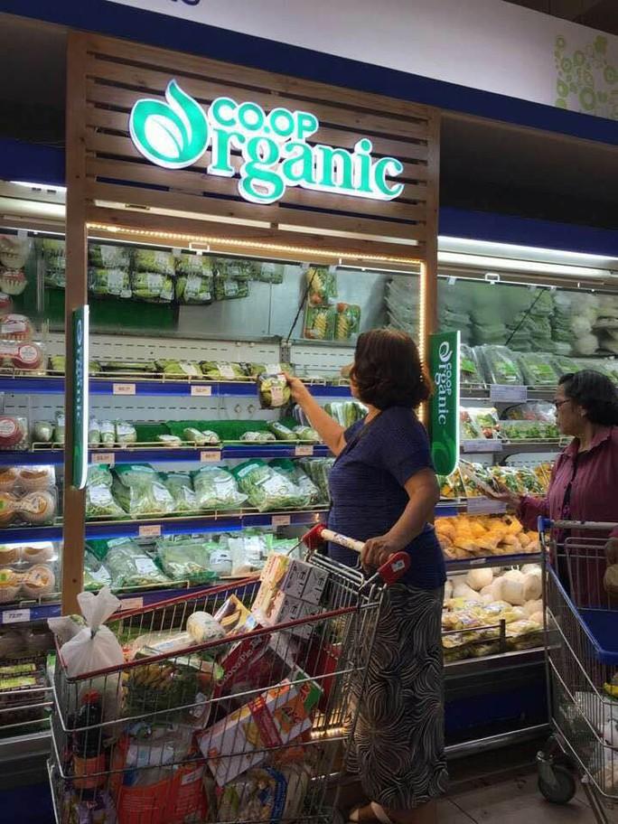 Trái cây, thịt heo thương hiệu Co.op Organic sắp ra thị trường - Ảnh 1.