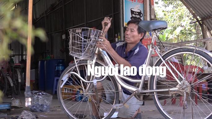 """""""Đại gia"""" xe đạp cũ của học sinh nghèo ở miền Tây - Ảnh 3."""