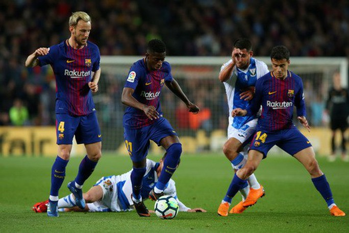 Hat-trick Messi giúp Barcelona bắt kịp kỷ lục 38 năm La Liga - Ảnh 2.