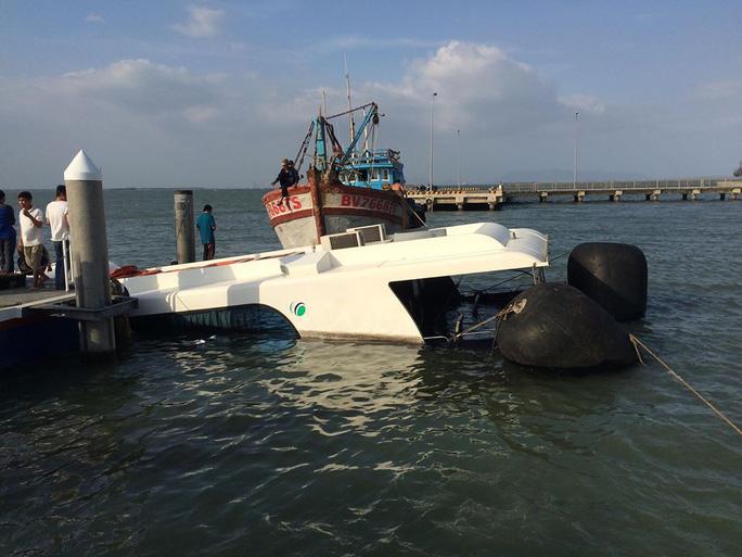 Tàu Greenlines DP C3 bị chìm ở Cần Giờ là do gãy chân vịt - Ảnh 5.