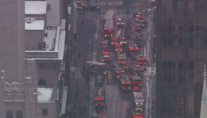 Tòa nhà Trump Tower xảy ra hỏa hoạn - Ảnh 3.