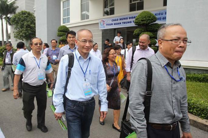 TP HCM trải thảm đón trí thức Việt kiều - Ảnh 1.