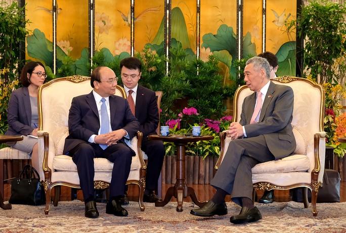 Kết nối kinh tế - điểm nhấn chuyến công du Singapore của Thủ tướng - Ảnh 1.