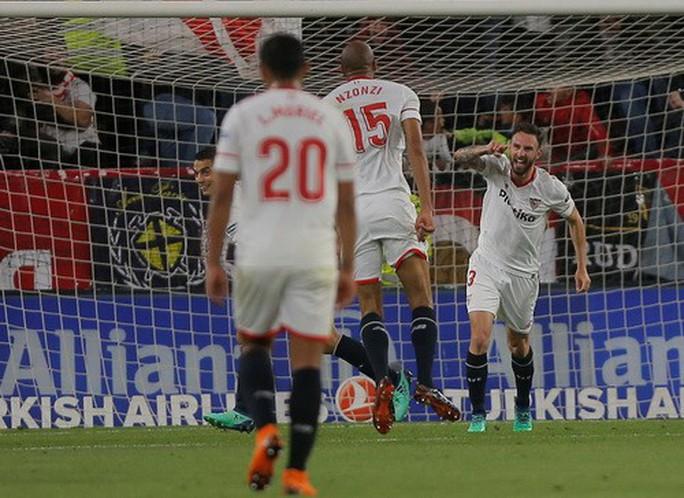 Tiền đạo Ramos phá lưới nhà, Real Madrid trắng tay ở Sevilla - Ảnh 3.