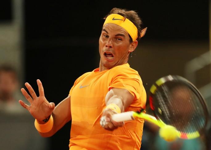 Vào tứ kết Madrid Open, Nadal phá thêm 1 kỷ lục  - Ảnh 2.
