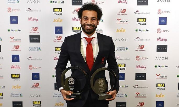 Salah đón cơn mưa giải thưởng cá nhân - Ảnh 1.