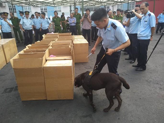 Phát hiện 2,5 tấn ma túy cực độc tại cảng Hải Phòng - Ảnh 1.