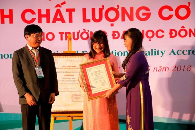 Trường Đại học Đông Á đạt chuẩn kiểm định chất lượng giáo dục - Ảnh 1.