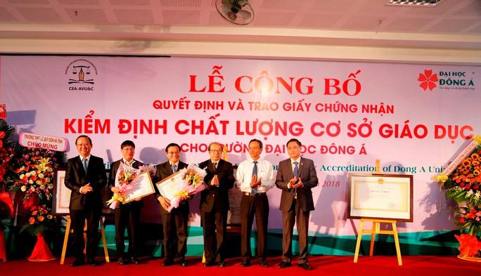 Trường Đại học Đông Á đạt chuẩn kiểm định chất lượng giáo dục - Ảnh 2.