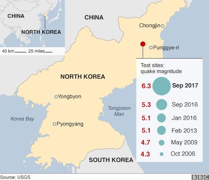 Triều Tiên công bố lễ phá hủy bãi thử nghiệm hạt nhân - Ảnh 2.