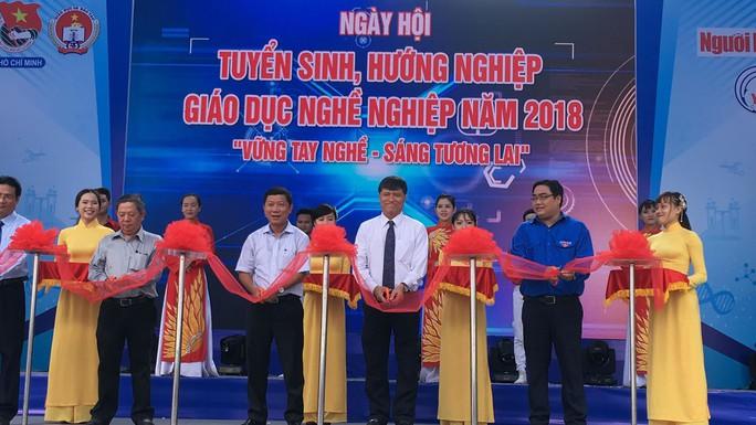 TP HCM: Khai mạc ngày hội giáo dục nghề nghiệp - Ảnh 1.