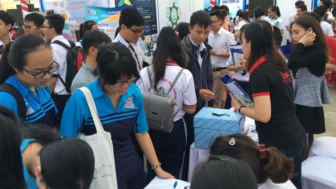 TP HCM: Khai mạc ngày hội giáo dục nghề nghiệp - Ảnh 4.