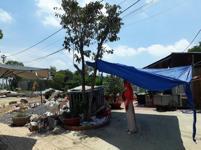 Vụ xây nhà trên đất người khác ở Biên Hòa: Tháo dỡ căn nhà trái phép - Ảnh 1.