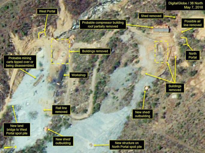Gian nan phi hạt nhân ở Triều Tiên - Ảnh 1.
