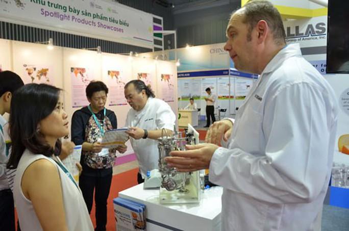 Hơn 170 doanh nghiệp tham gia triển lãm quốc tế về thực phẩm - Ảnh 1.