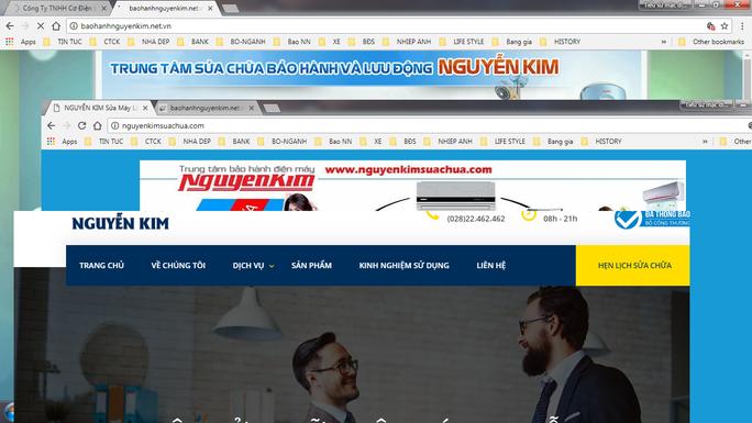 Hàng loạt website giả mạo siêu thị điện máy lừa khách hàng - Ảnh 1.