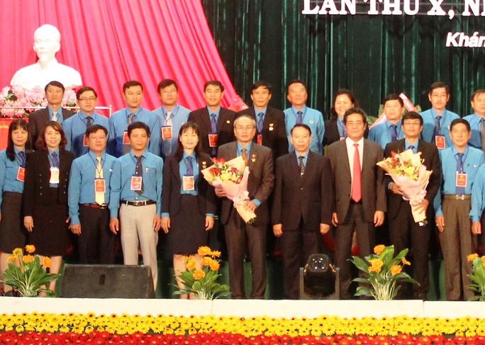 Ông Nguyễn Hòa tái đắc cử chức Chủ tịch LĐLĐ tỉnh Khánh Hòa - Ảnh 2.