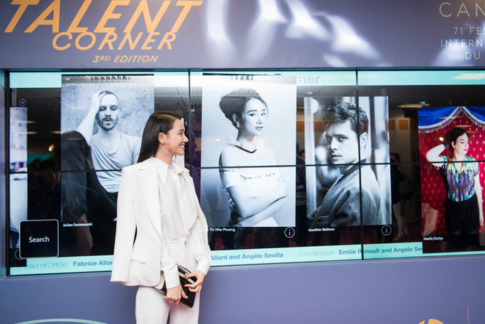 Nhã Phương duyên dáng ở Cannes, được ngợi khen - Ảnh 2.
