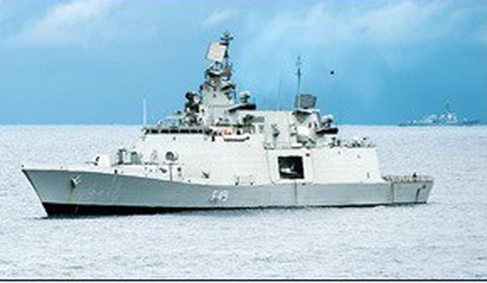3 tàu hải quân Ấn Độ thăm Việt Nam 4 ngày - Ảnh 1.